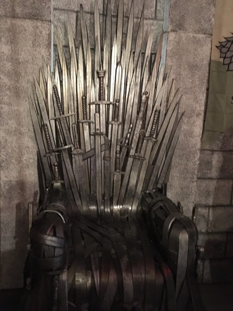 Escpae Game à Lyon : Le trone de fer