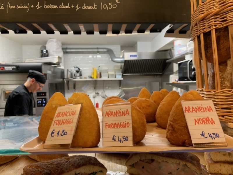 ou acheter des Arancini à Lyon