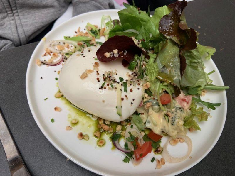 Burrata restaurant l'Encart à Lyon