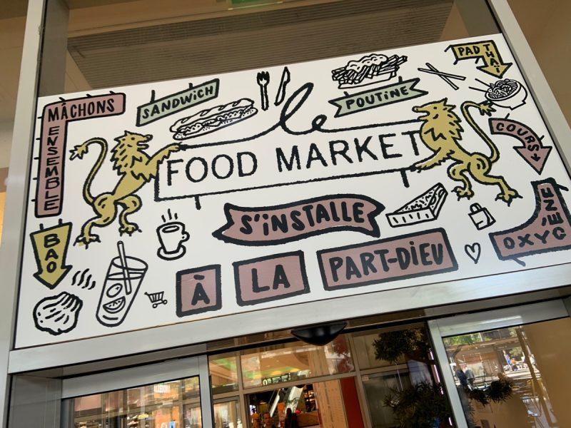 Food Market à Lyon Part-Dieu