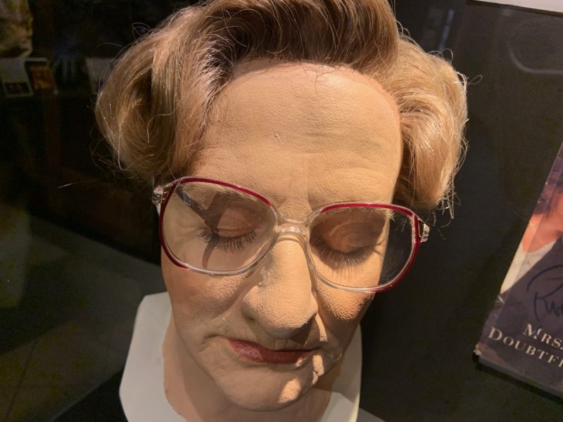 Masque Madame DoubtFire Musée Lyon