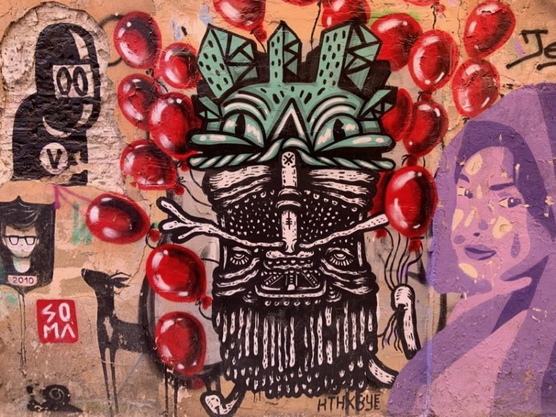 street art à Valence