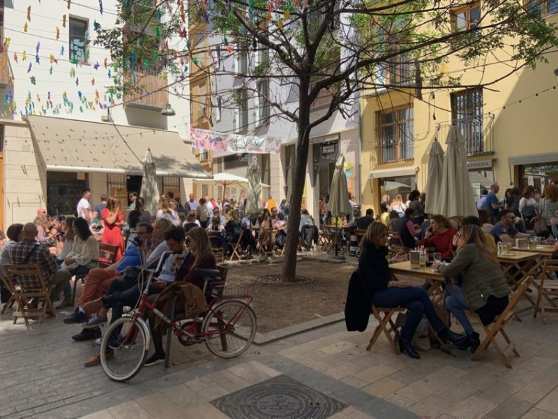 Marché hipster Valence
