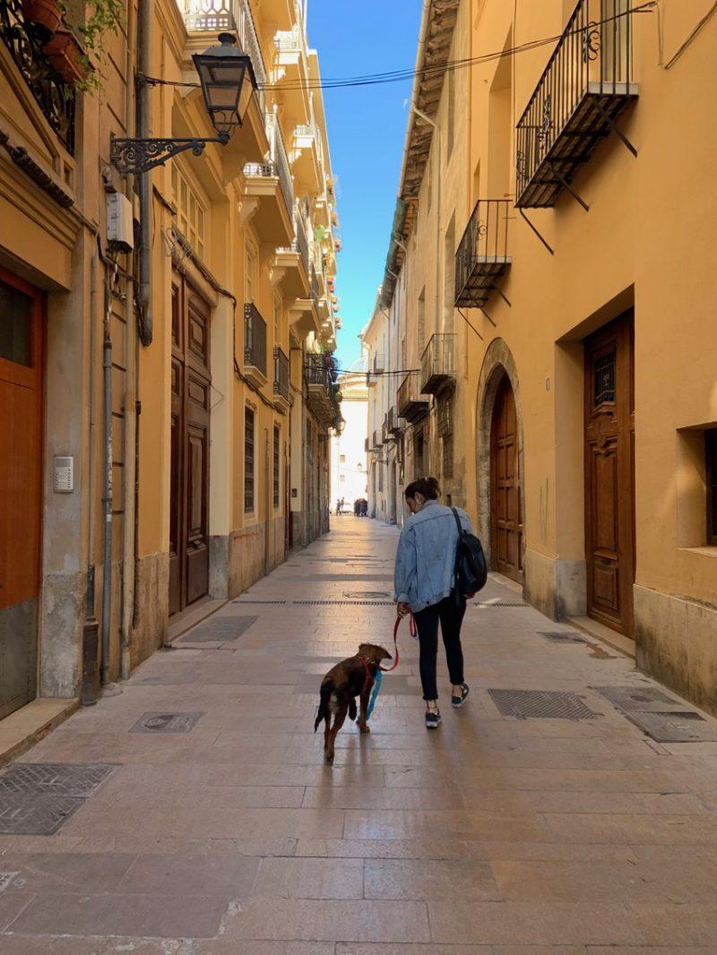 Ruelles de Valence en Espagne