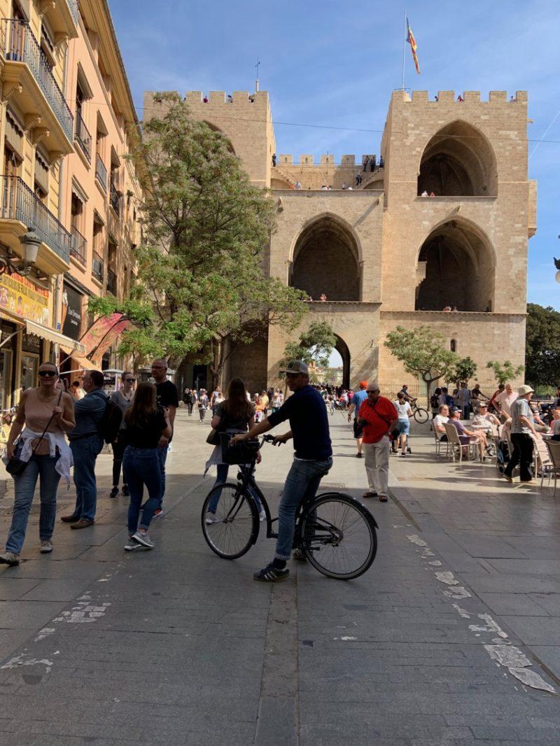 Faire du vélo à Valencia