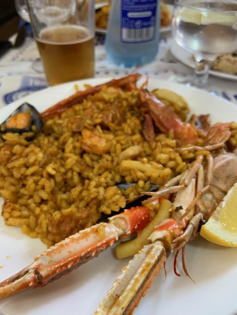 Paella a Valence