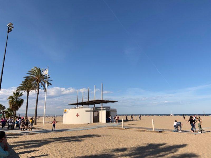 Se rendre à la plage à Valencia