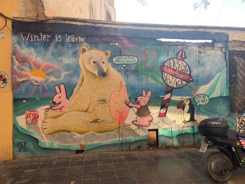 Barbi Street Art