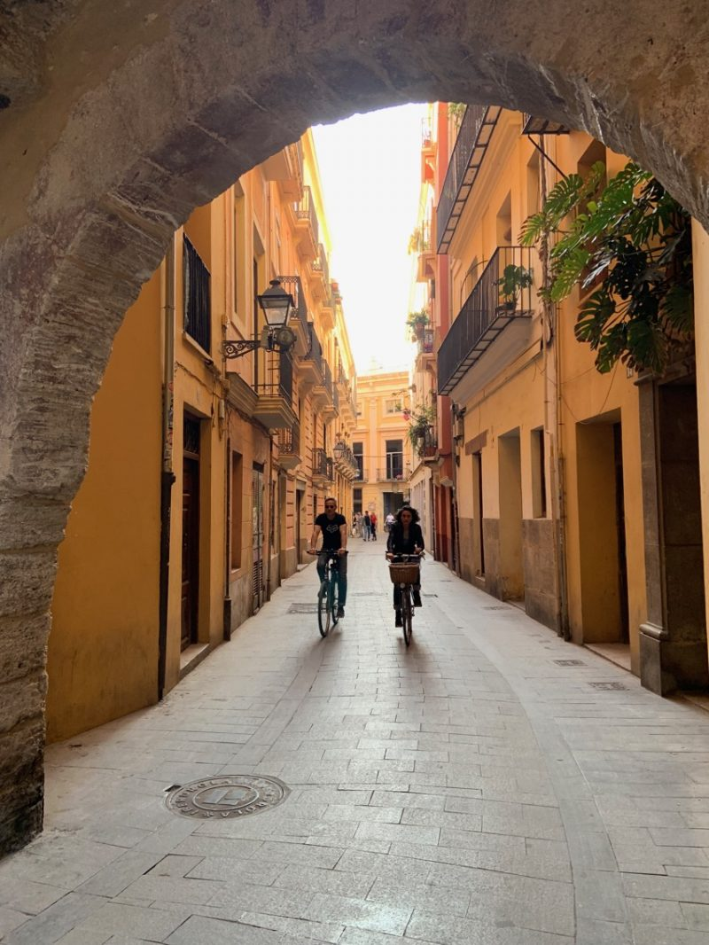 ruelles à Valence