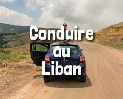 Dangeureux de conduire au Liban
