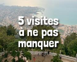 Visites à ne pas manquer au Liban