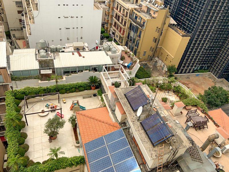 toit-terrasse à Beyrouth