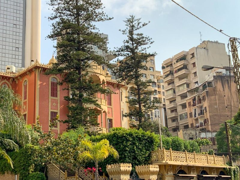 Immeubles à Beyrouth