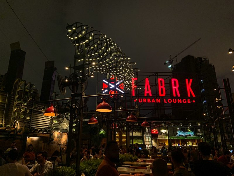 Fabrk rooftop à Beyrouth