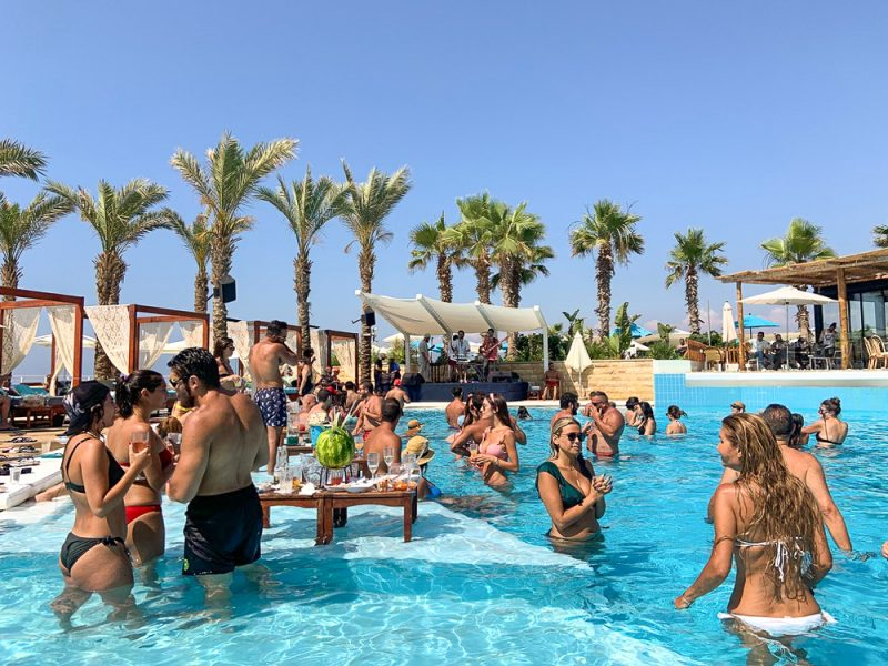 Plage privée Beyrouth