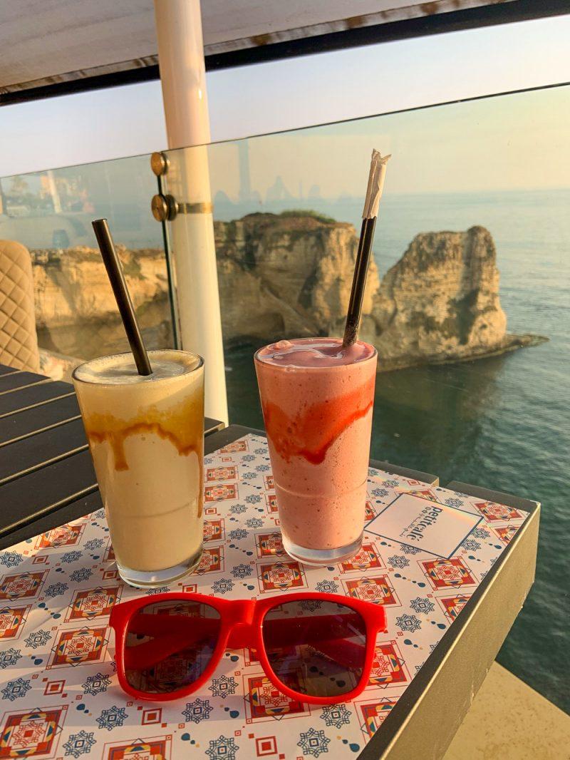 Le Petit Café sur la Corniche à Beyrouth