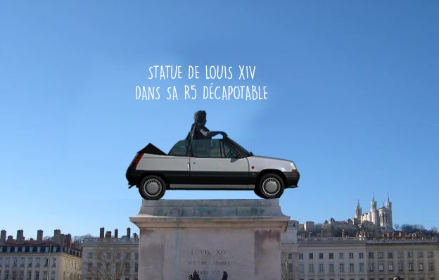 Presquile pietonne à Lyon