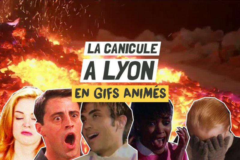 Canicule à Lyon