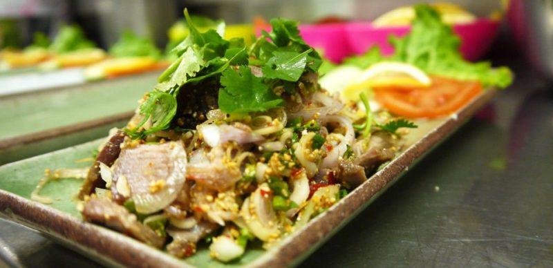 Plats servi aux Petits Siamois, restaurant Thai à Lyon