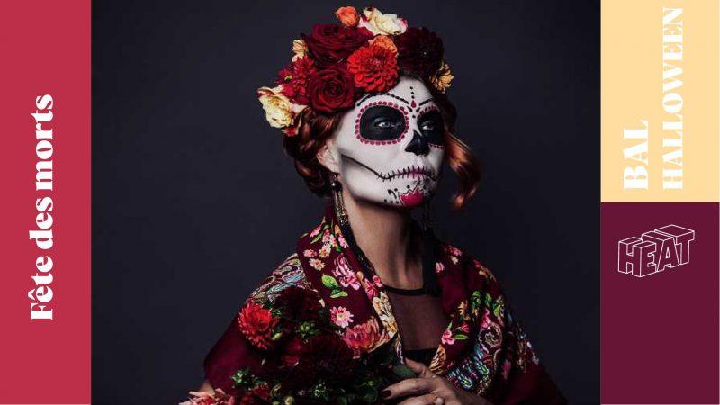 Bal des morts Mexicain chez Heat
