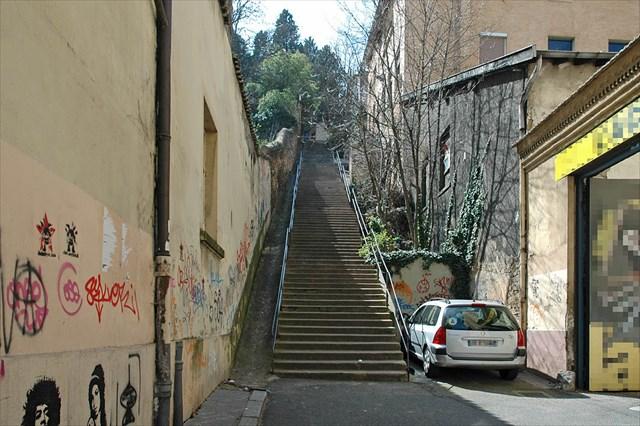 courir escalier lyon