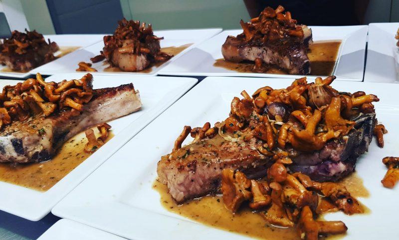 Superbes assiettes de viande chez L'Argot