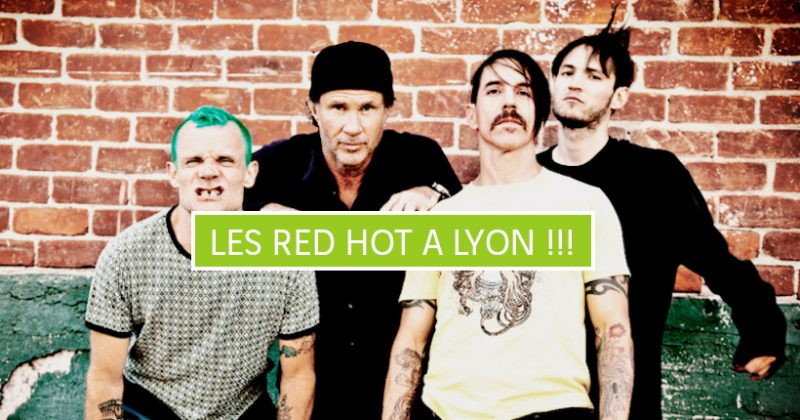 Red Hot Chili Peppers à Lyon