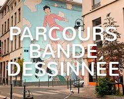 Parcours bande dessinée Bruxelles