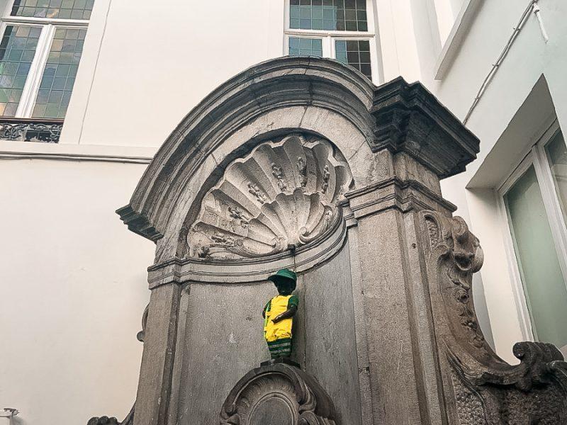 Manneken Pis à Bruxelles
