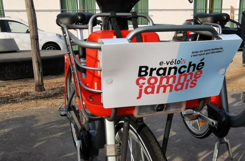 Campagne e-Vélo'v