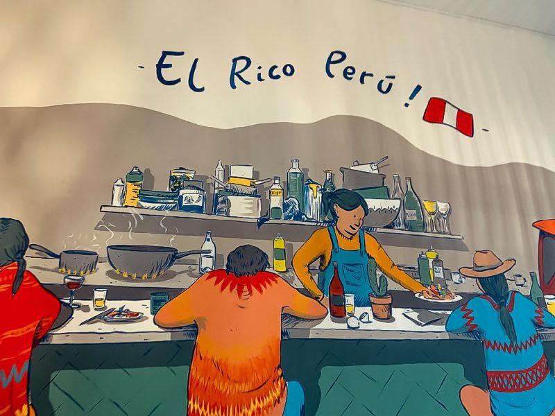 Fresque El Rico Peru