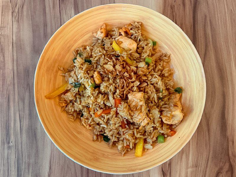 Plat Péruvien à base de riz
