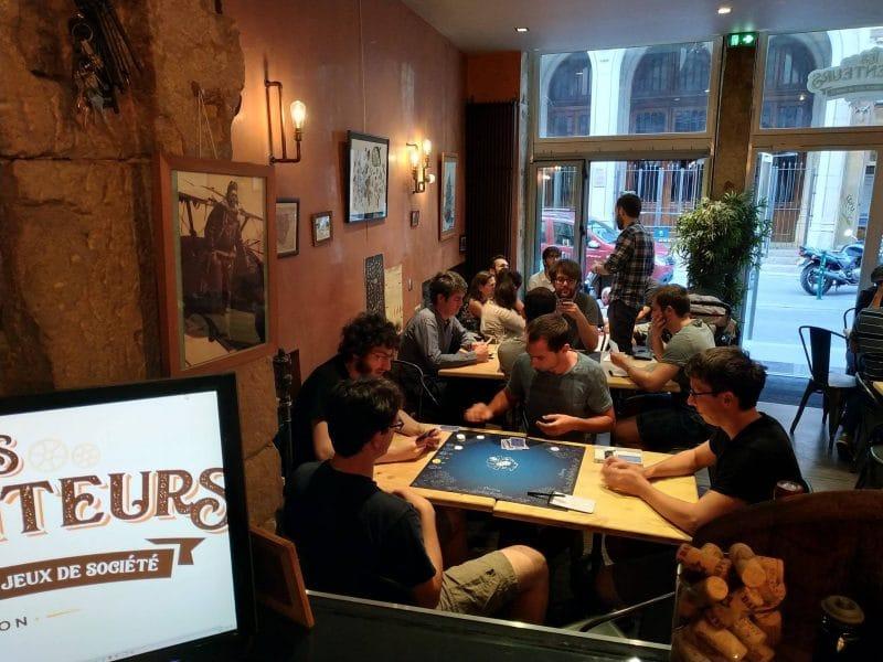 Les Arpenteurs bars à jeux Lyon