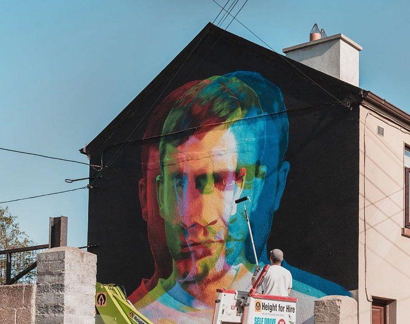 Aches Fresque Street Art