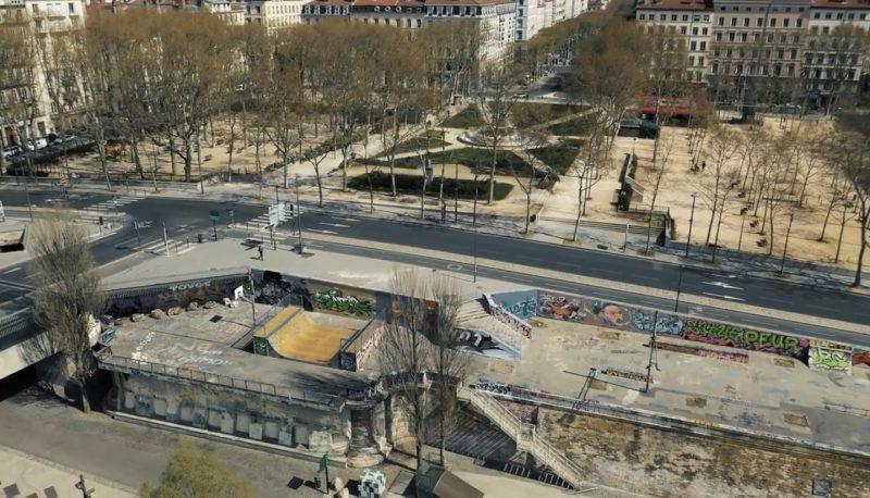 Place Maréchal Lyautey Confinement