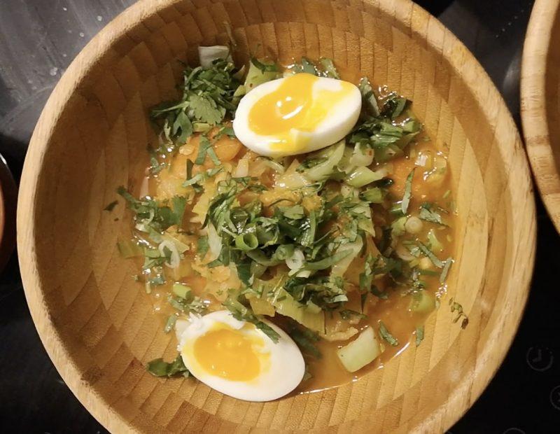 Recette Soupe Lentilles Corail au Curry