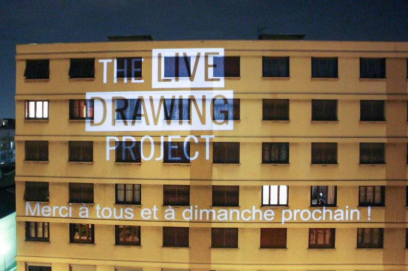 Live Drawing Project Lyon