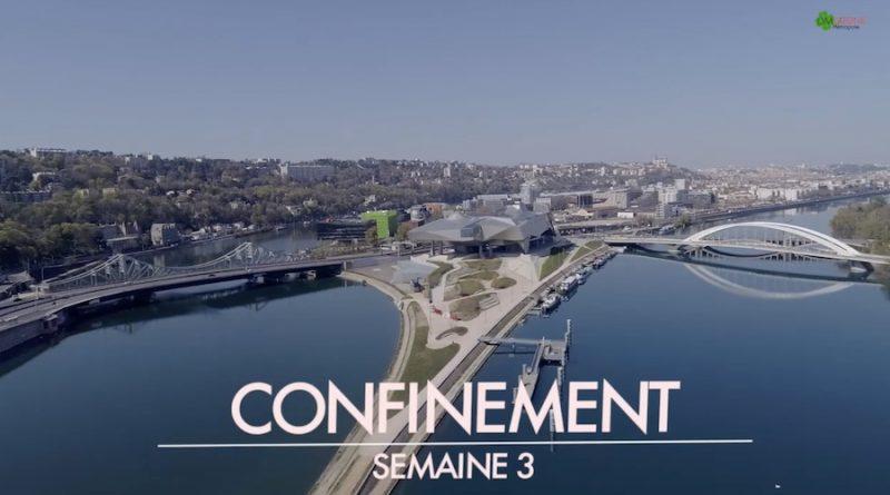 Video Drone Lyon Confinement
