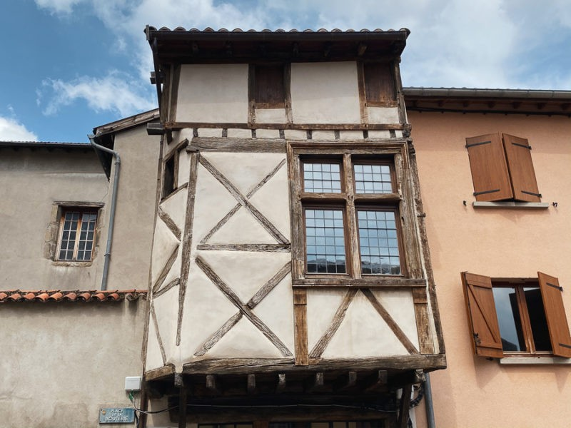 Village médiévale de Saint Syphorien sur Coise