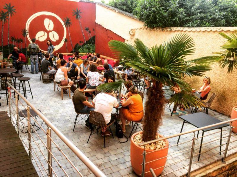 Bar avec terrasse dans le 4ème arrondissement de Lyon