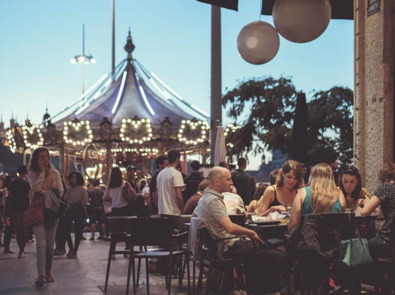 Bar avec terrasse dans le 3ème arrondissement de Lyon