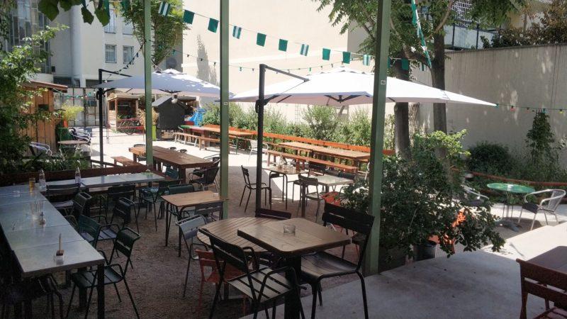 Bar avec terrasse à Villeurbanne