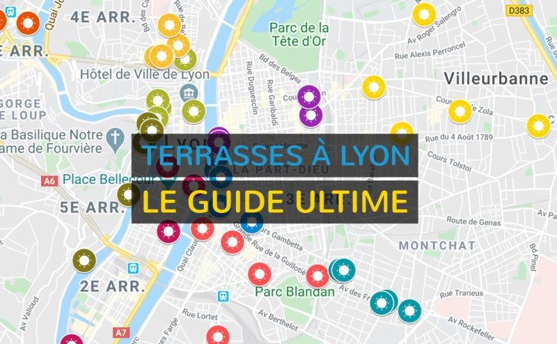 Top 50 des terrasses à Lyon