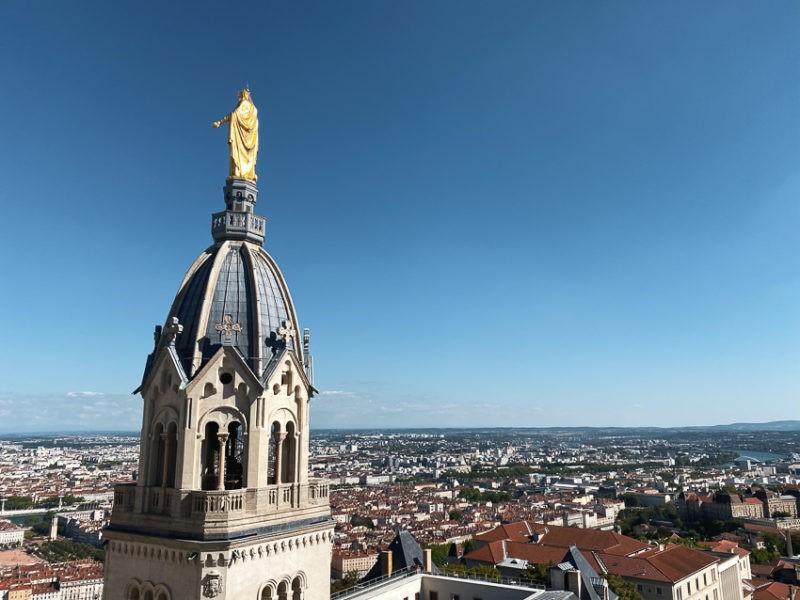 Statue de la Vierge Marie Lyon 5