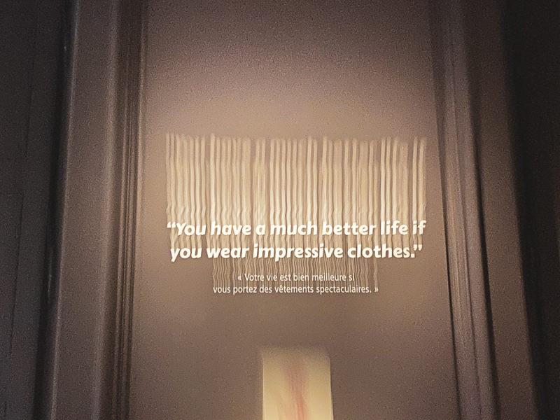Votre vie est bien meilleure si vous portez des vêtements spectaculaires