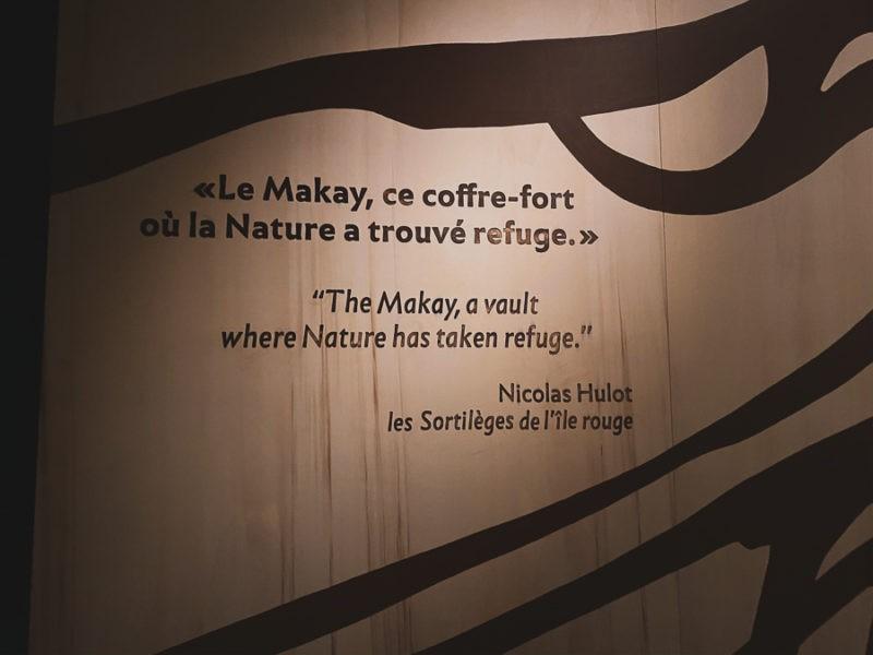 Le Makay ce coffre-fort où la nature à trouver refuge