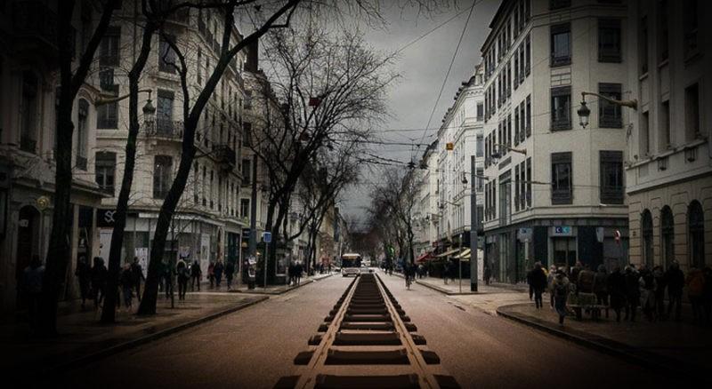 Train fantôme à Lyon pour Halloween