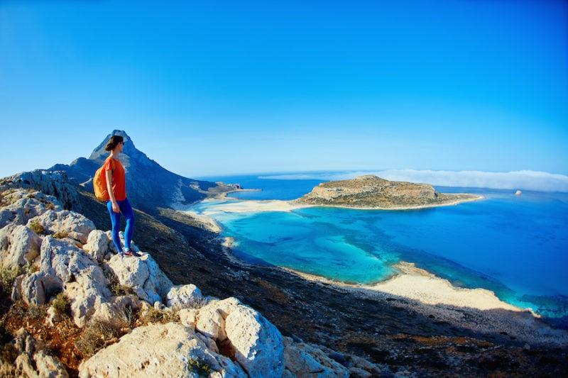 Beau Paysage Crète