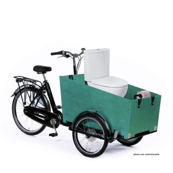 Vélo Tri-popo-porteur