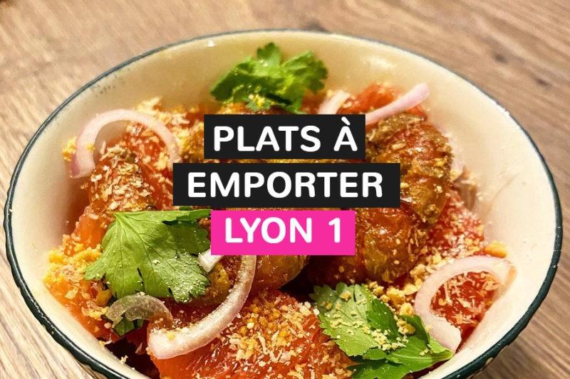 Restaurants faisant à emporter à Lyon 1